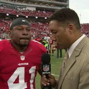 San Francisco 49ers safety Antoine Bethea on 49ers victory