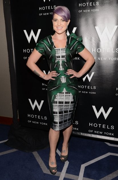 Kelly Osbourne attends the …