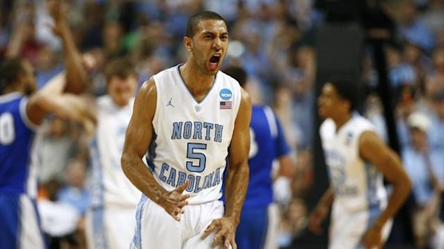 Kendall Marshall during his time as a North Carolina Tar Heels player (Reuters)