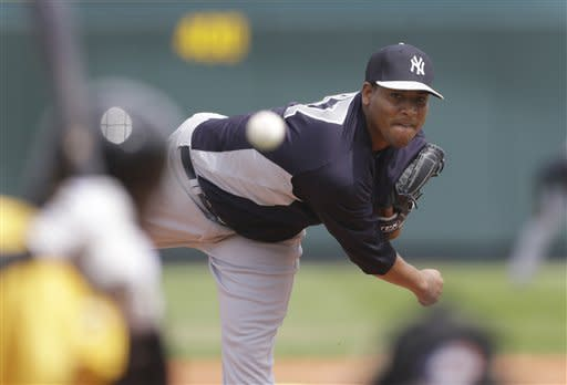 Yanks' Nova struggles against Pirates