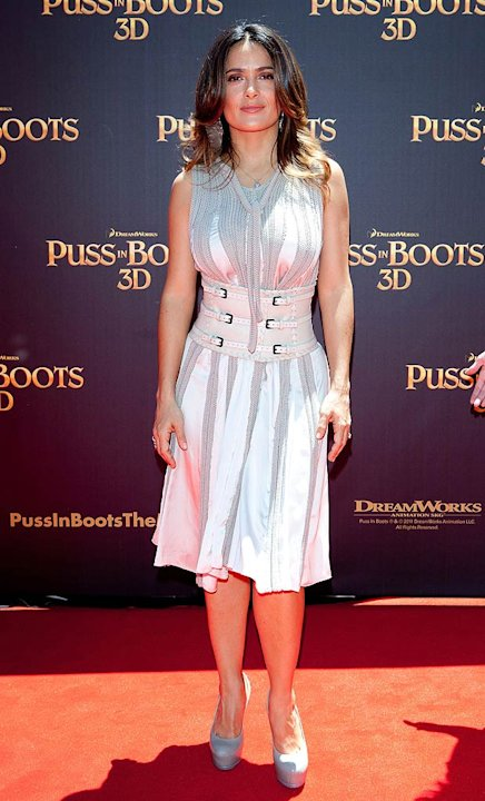 S Alma Hayek Puss In Boots Australia Premiere