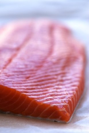 Rich in healthy fats, wild salmon is great for your hair.