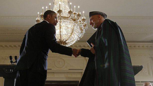 The CIA Gave Karzai Bags Full of Cash for Over a Decade