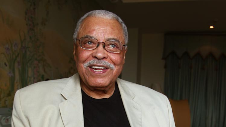"FILE - This Jan. 7, 2013 file photo shows actor James Earl Jones in Sydney, Australia. Jones is coming back to Broadway in a play that's almost as old as he is. The 87-year-old two-time Tony Award-winner will star in a fall revival of ""You Can't Take It With You,"" the 1936 comedy about a wealthy uptight family meeting an off-kilter one was written by Moss Hart and George S. Kaufman. Scott Ellis will direct. Previews will begin in August, with official opening set for Sept. 28 at a theater to be announced. (AP Photo/Rick Rycroft, File)"