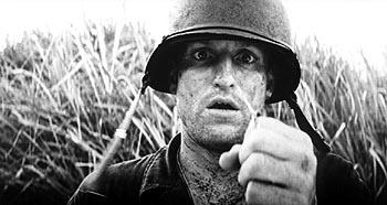 Woody Harrelson as Sgt. Keck in 20th Century Fox's The Thin Red Line