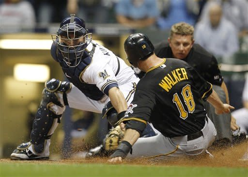 Pirates pound Wolf, beat Brewers 8-2