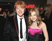 Rupert Grint and Chloe Moretz attend the Jameson Empire Film Awards at The Grosvenor House Hotel in London on March 28, 2010 -- Getty Premium