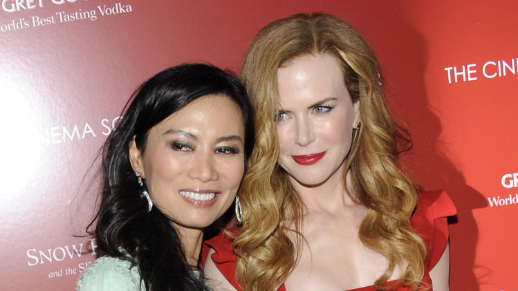Producer Wendi Murdoch, left, and actress Nicole Kidman attend a special screening of 'Snow Flower and the Secret Fan' hosted by the Cinema Society at the Tribeca Grand Hotel on Wednesday, July 13, 2011 in New York. (AP Photo/Evan Agostini)