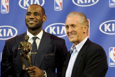Pat Riley still sounds salty about LeBron James leaving