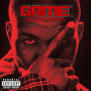 "In this CD cover image released by Aftermath/Interscope Records, the latest release from The Game, ""The R.E.D. Album,"" is shown. (AP Photo/Aftermath/Interscope Records)"