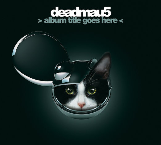"This CD cover image released by Ultra Music shows the latest release for Deadmau5, ""Album Titile Goes Here."" (AP Photo/Ultra Music)"