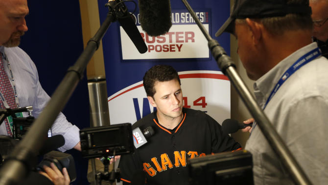Buster's back: Posey tries to add 3rd Series ring