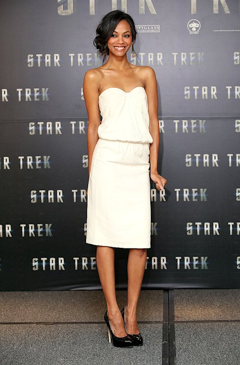 Saldana Zoe Star Trek Mexico