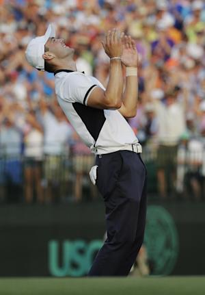 Rough or not, Kaymer was the star of this US Open