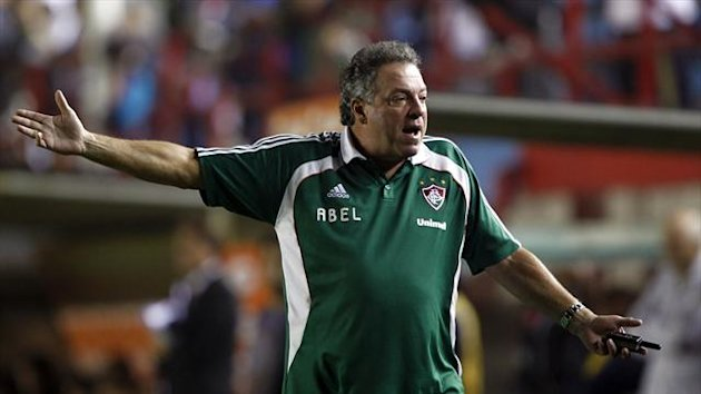 Abel Braga has been sacked as head coach of Brazil's Fluminense (Reuters)
