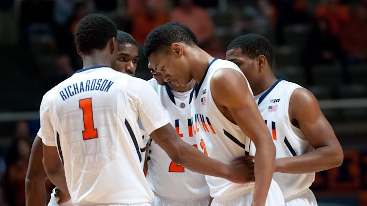 NCAA Basketball: Wisconsin at Illinois