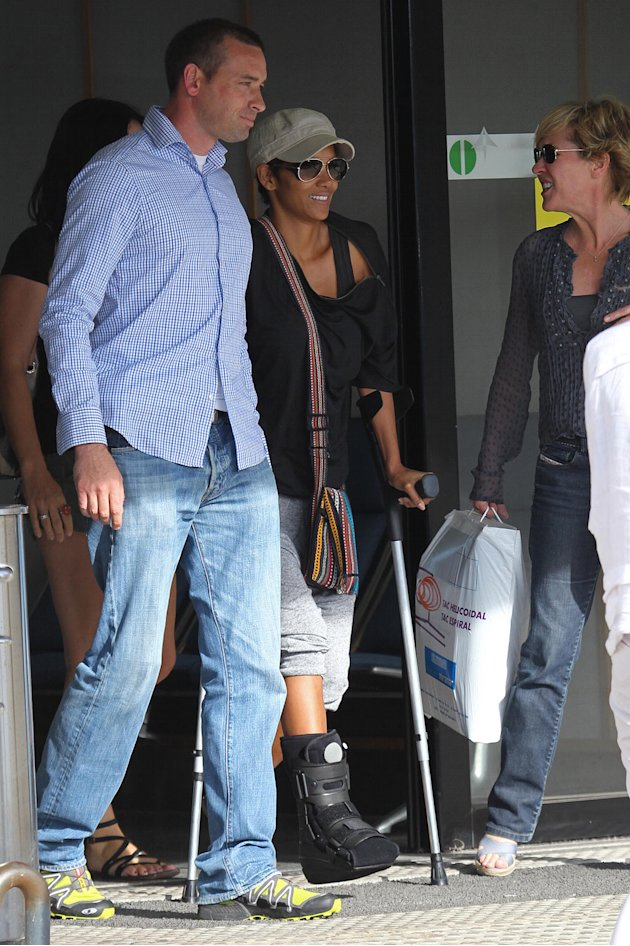 Stars Injured on Set, Halle …