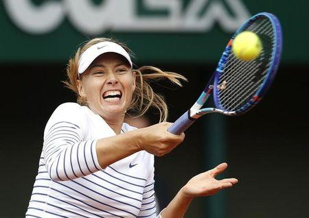 Sharapova and Murray show off title credentials