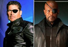 David Hasselhoff, Samuel L. Jackson | Photo Credits: Walt Disney Studios; 20th Century Fox