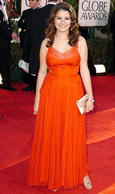 Alia Shawkat 62nd Annual Golden Globe Awards - Arrivals Beverly Hills, CA - 1/16/05