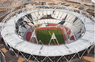 Conversion of Olympic Park underway