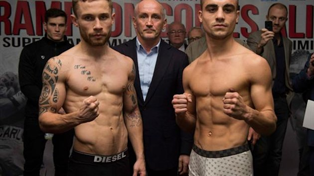 Frampton and Parodi weigh in for tomorrow night's Odyssey Arena clash