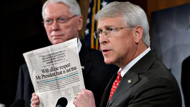 Republican Senator Receives Potentially Ricin-Poisoned Letter