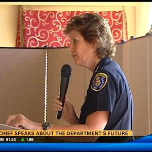 SDPD chief speaks about the department's future