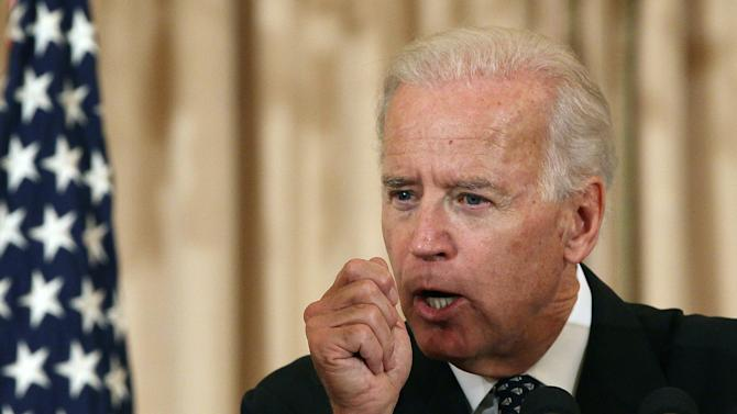 Clinton, Biden Attend Conference On Global Hunger At State Department