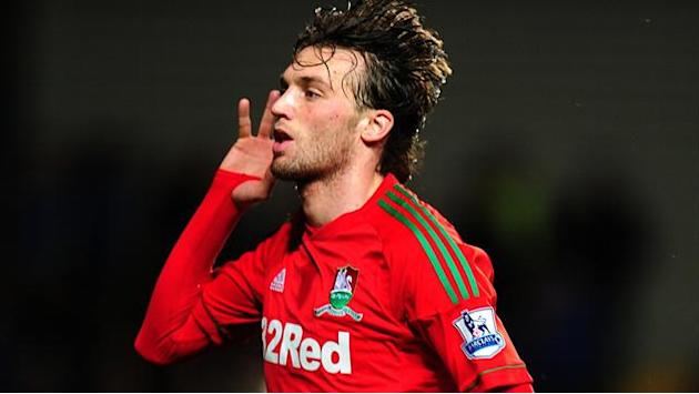 Premier League - Michu heading for derby fitness