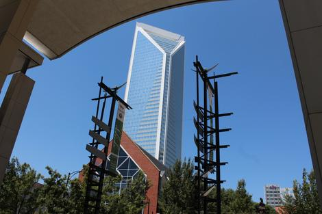 Charlotte's Trasformation for the Democratic National Convention Visitors