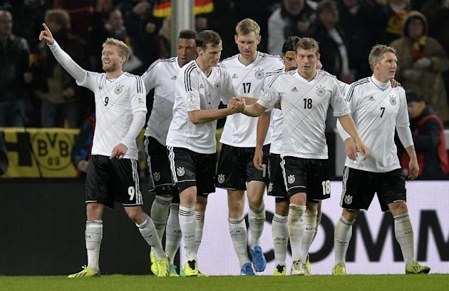 Germany, Belgium, Switzerland reach World Cup