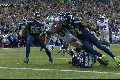 Kam Chancellor forced a Calvin Johnson fumble a yard away from a go-ahead touchdown