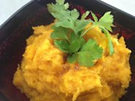 Roasted pumpkin puree