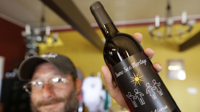 More wines coming out in support of gay marriage