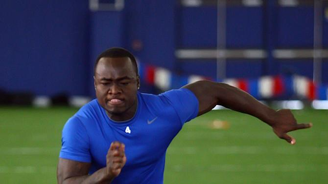 NCAA Football: Boise State Pro Day