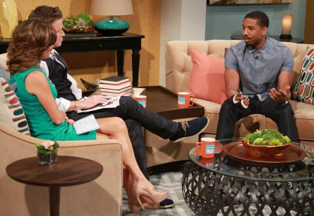Michael B. Jordan stops by Access Hollywood Live on July 24, 2013 -- Access Hollywood