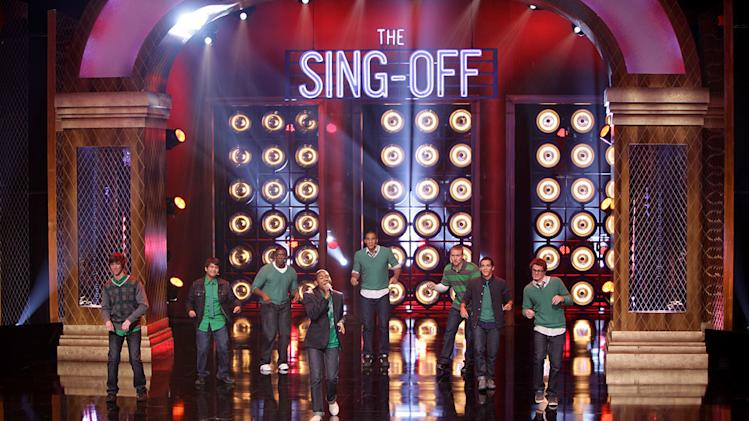 "Men of Note on the second season of ""The Sing-Off."" This all-male group of eight consists of alumni from Cherry Hill High School West, where the group was founded. Three-time winners of the Best of High School A Cappella competition, the group has the perfect mix of originality and diversity."