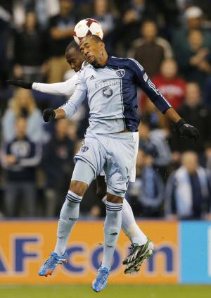 Lawrence Olum lifts Sporting KC past Union, 2-1