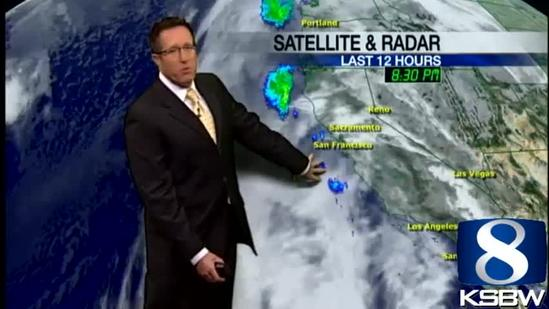 Check out your Wednesday morning KSBW Weather Forecast 01 23 13