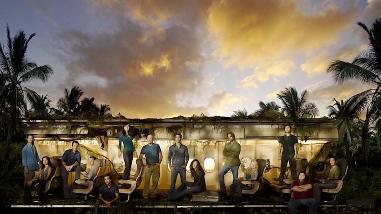 "The cast of ""Lost."""
