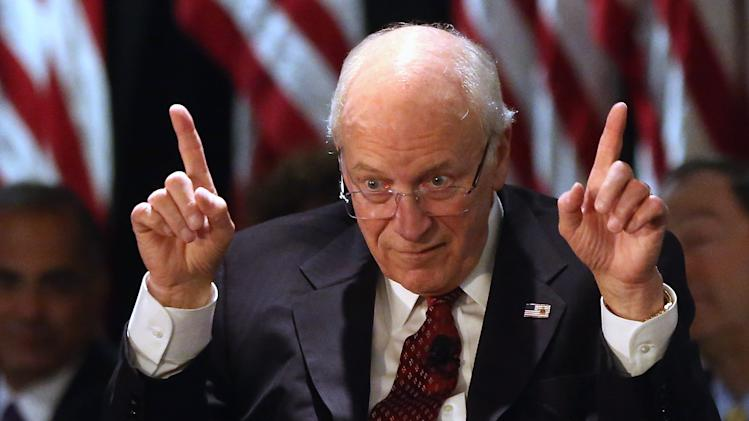 Former Vice President Dick Cheney Speaks At Luncheon On Long Island