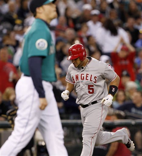 Kendrick's hit gives Angels 6-4 win over Seattle