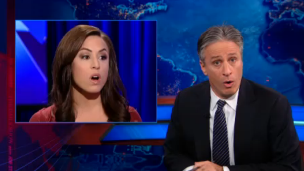 Jon Stewart Explains the GOP's Lady Problems for Fox