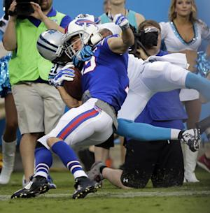 Bills top Panthers 20-18 amid offensive struggles