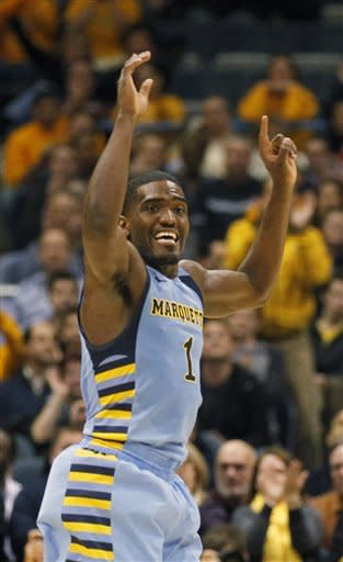 No. 21 Marquette comes back vs. No. 23 Louisville