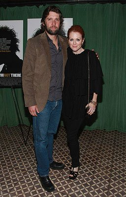 Bart Freundlich and Julianne Moore at the New York City premiere of The Weinstein Company's I'm Not There