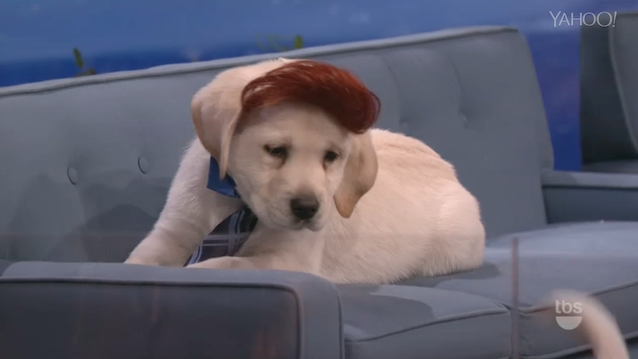 Conan Does All Puppy Version of His Show