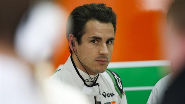 Force India's Adrian Sutil (AFP)
