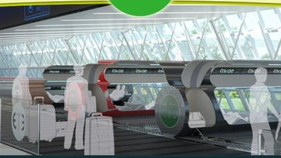 Evacuated Tube Transport shows us the future of travel